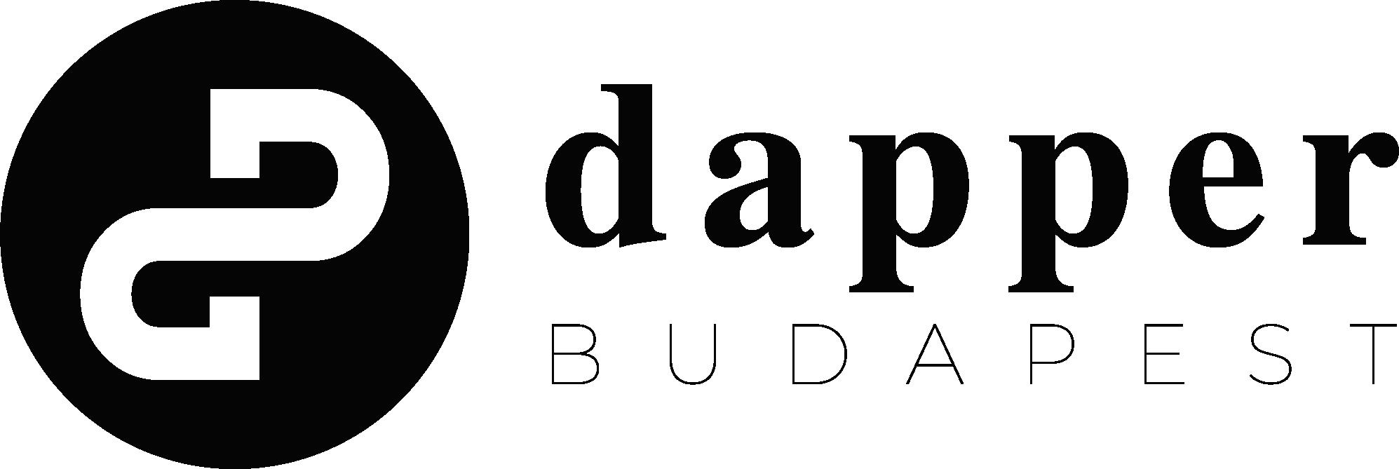 dapper logo fekete